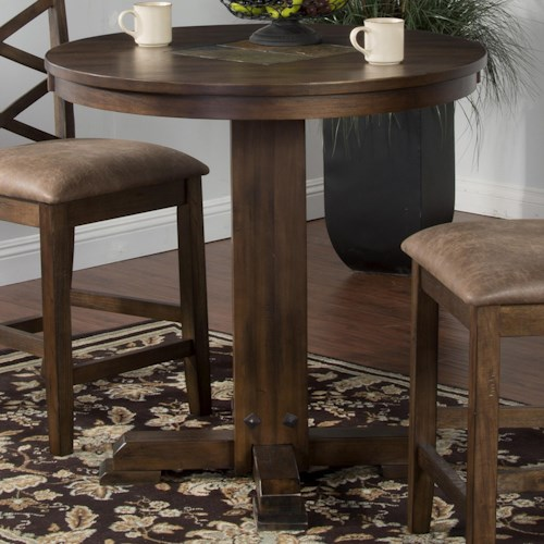 Sunny Designs Savannah Counter/Bar Height Pub Table with Adjustable Height