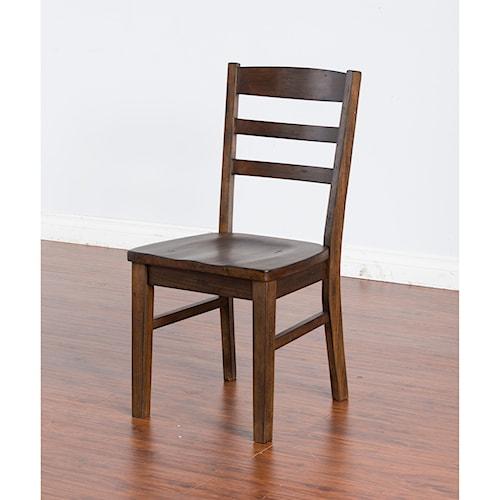 Sunny Designs Savannah Chair w/ Wood Seat