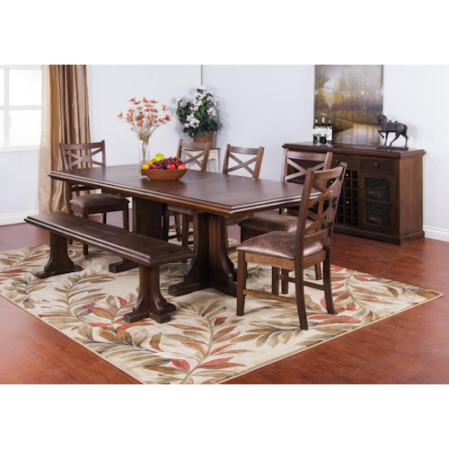 Sunny Designs Savannah Casual Dining Room Group