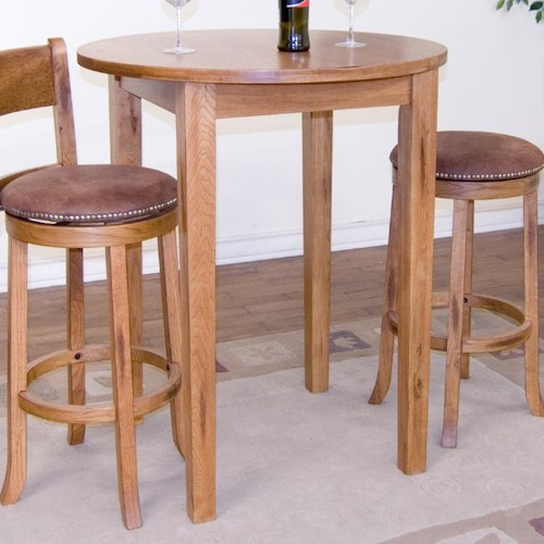 Sunny Designs Sedona Round Leg Pub Table