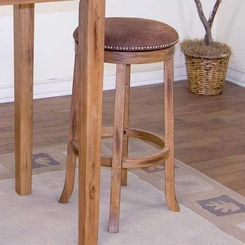 Morris Home Furnishings From Morris Home Furnishings - Backless Upholstered Swivel Counter Stool
