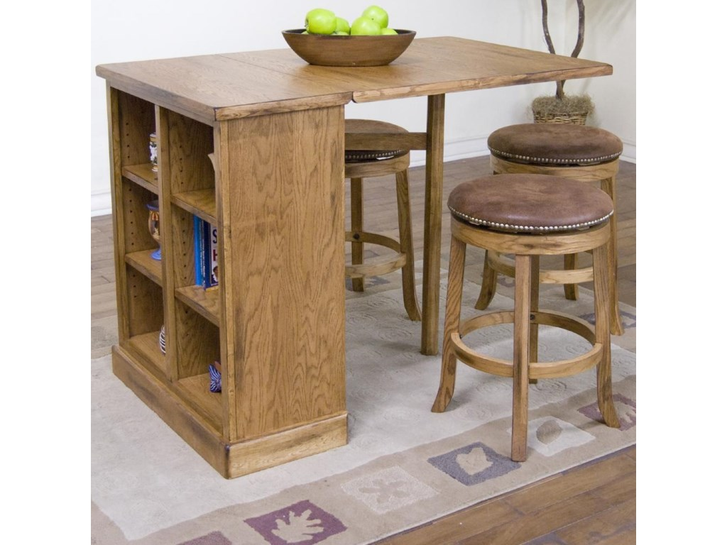 Shown with Pub Table with Bookcase