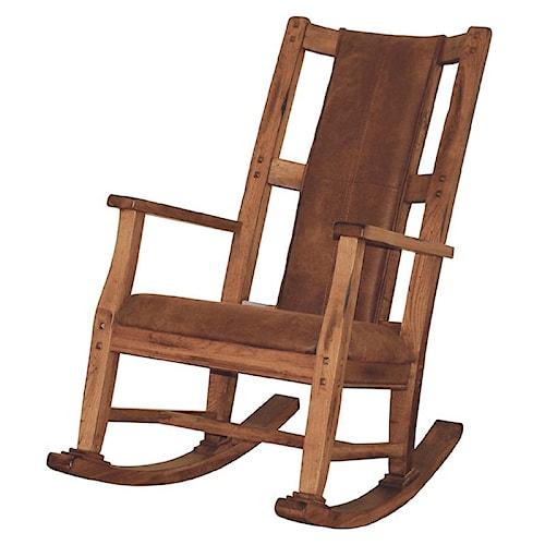 Sunny Designs Sedona Rocker w/ T-Fabric Seat & Back