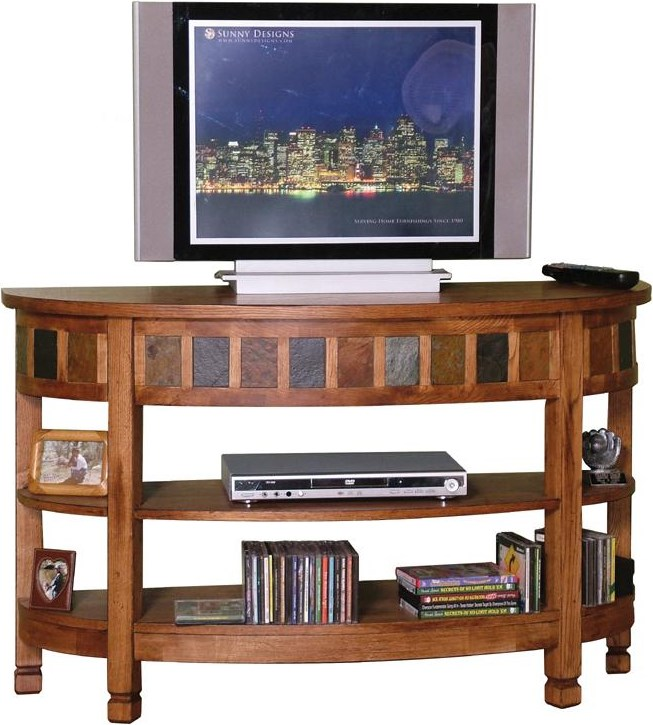 Shown as TV console