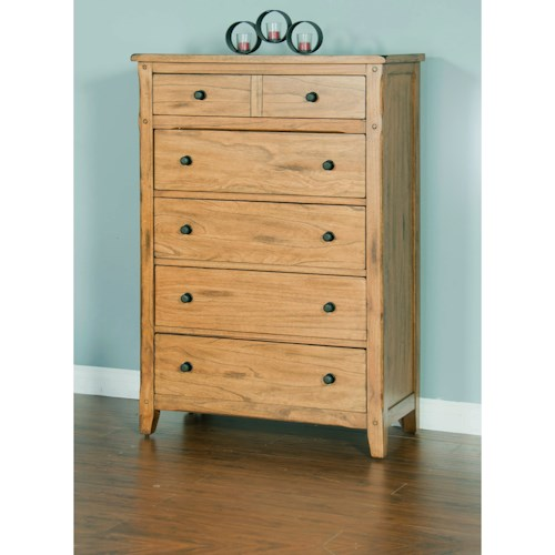 Sunny Designs Sedona Chest with 5 Drawers