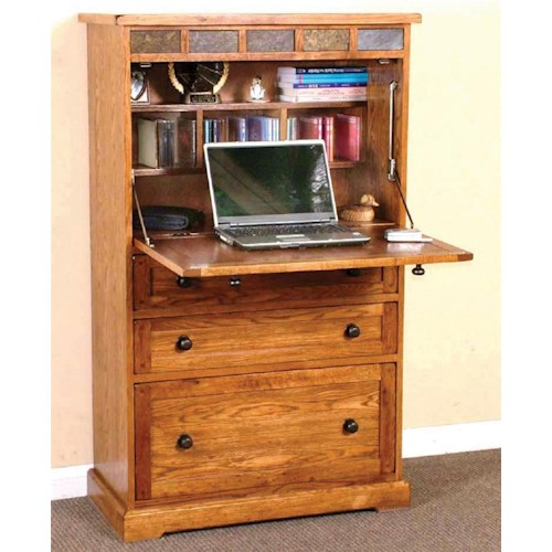 Sunny Designs Sedona Laptop Armoire