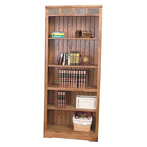 Sunny Designs Sedona Rustic Oak Open Bookcase