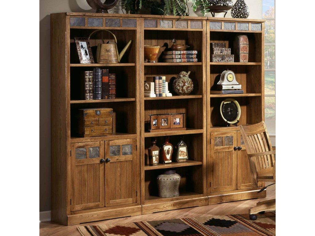Shown as part of wall unit