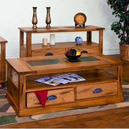 Morris Home Furnishings From Morris Home Furnishings - Coffee Table w/ Drawers & Casters