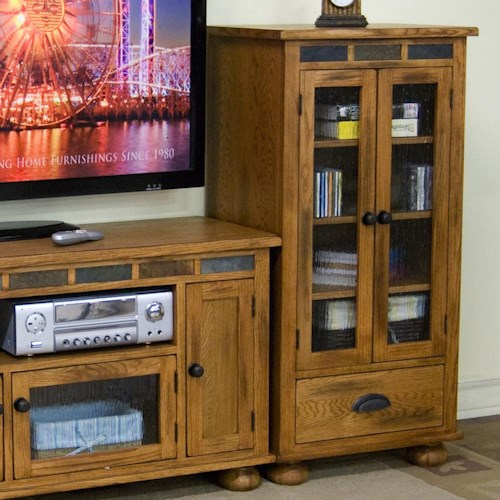 Sunny Designs Sedona Audio Pier w/ Drawer