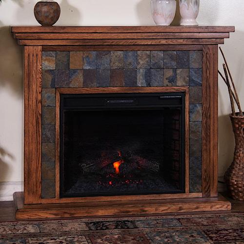 Sunny Designs Sedona Fireplace Media Console w/ 28
