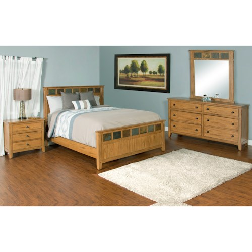 Sunny Designs Sedona California King Bedroom Group