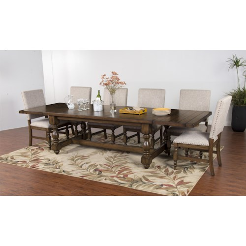Morris Home Furnishings Shiloh 5-Piece Dining Set includes 4 Side Chairs