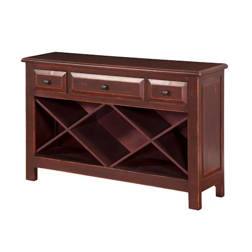 Morris Home Furnishings Shiraz Sofa Table