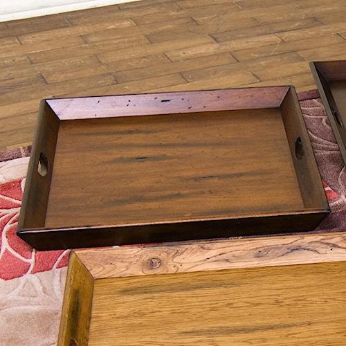 Sunny Designs Timber Creek  Medium Ottoman Tray
