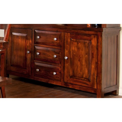 Morris Home Furnishings Tremont Dining Buffet