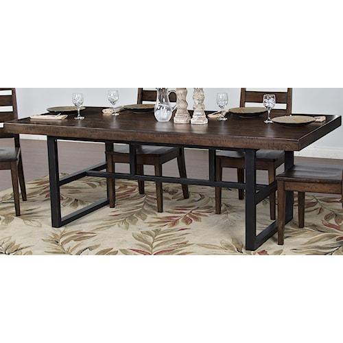 Morris Home Furnishings Wellman Dining Table