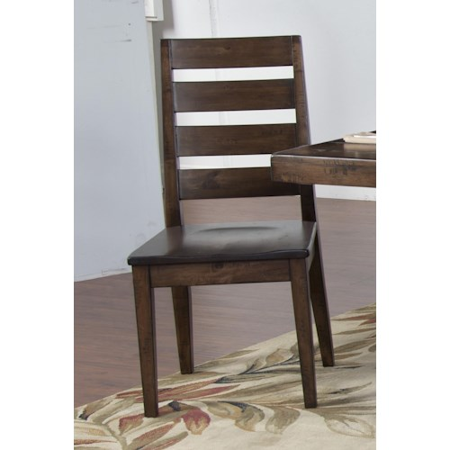 Morris Home Furnishings Wellman Side Chair