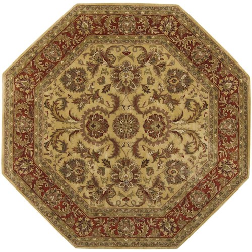 Surya Rugs Ancient Treasures 8' Octagon