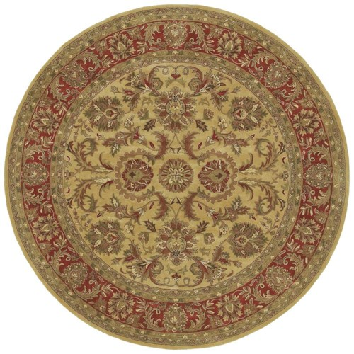 Surya Rugs Ancient Treasures 8' Round