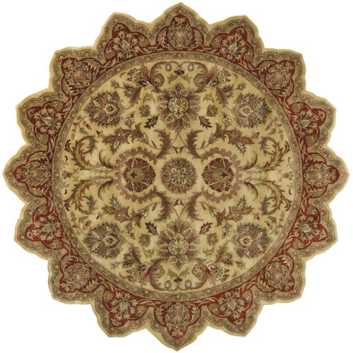 Surya Rugs Ancient Treasures 8' Star