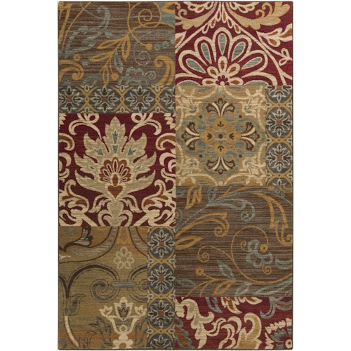 Surya Rugs Arabesque 5'3