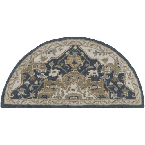 Surya Rugs Caesar 2' x 4' Hearth