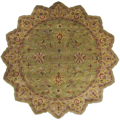 Surya Rugs Crowne 8' Star