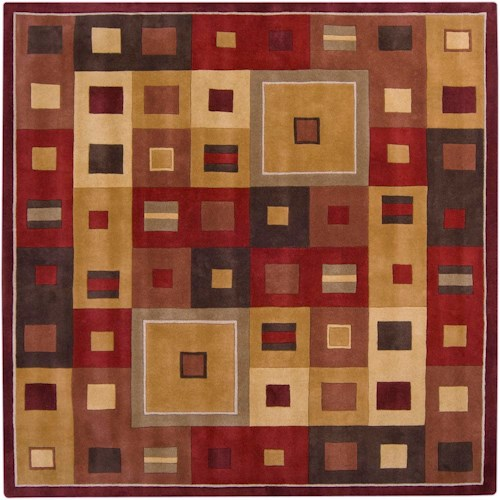 Surya Rugs Forum 4' Square