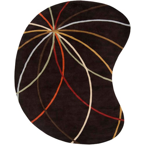 Surya Rugs Forum 8' x 10' Kidney