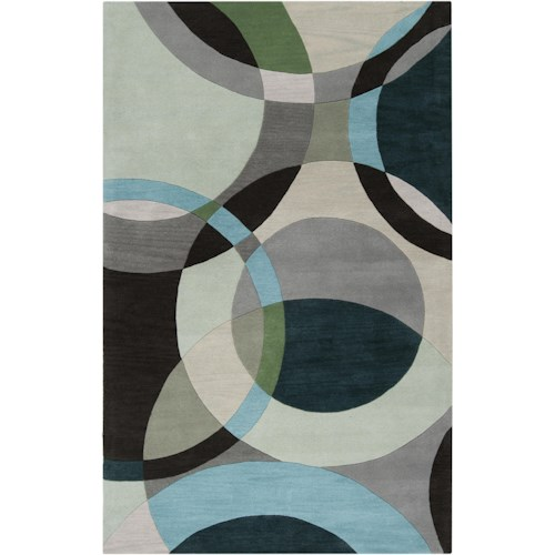 Surya Rugs Forum 6' x 9'