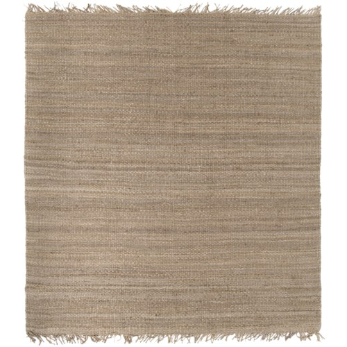 Surya Rugs Jute Natural 8' Square