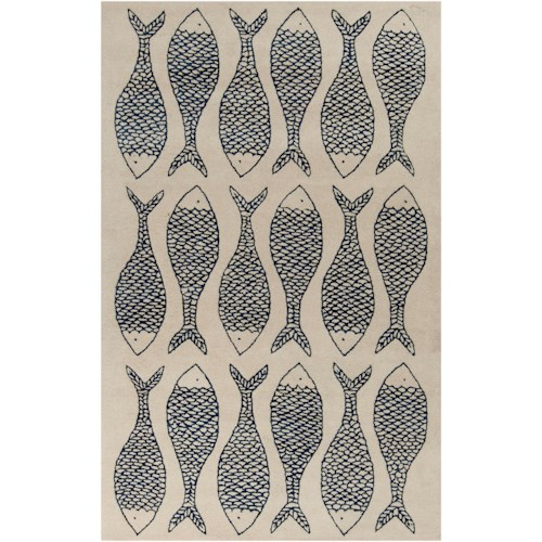 Surya Rugs Lighthouse 2' x 3'
