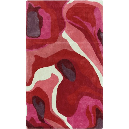 Surya Rugs Pigments 5' x 8'