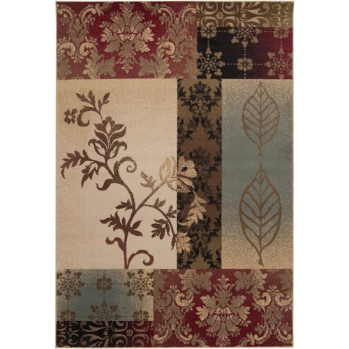 Surya Rugs Riley 4' x 5'5