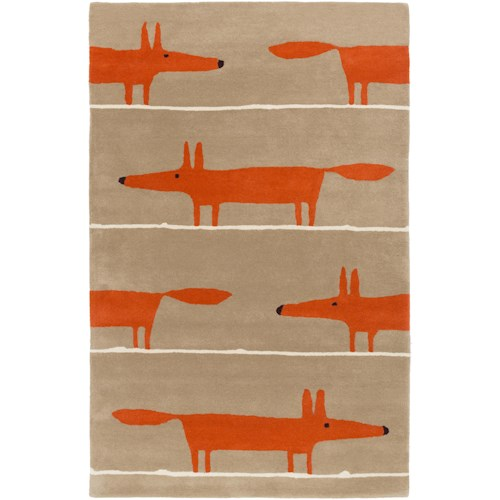 Surya Rugs Scion 2' x 3'