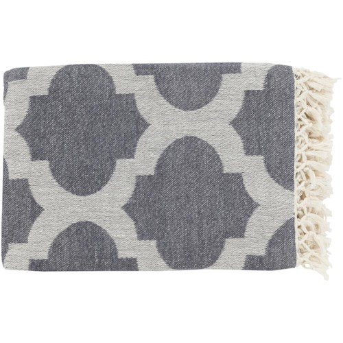Surya Throw Blankets Trellis 50