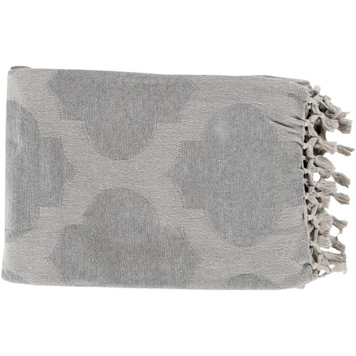 Surya Rugs Throw Blankets Trellis 50