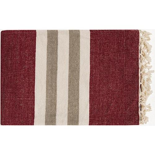 Surya Rugs Throw Blankets Troy 50