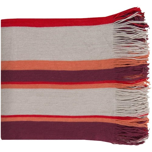 Surya Rugs Throw Blankets Topanga 50