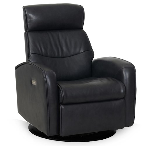 Synergy Home Furnishings 1194 Power Swivel Recliner with Headrest