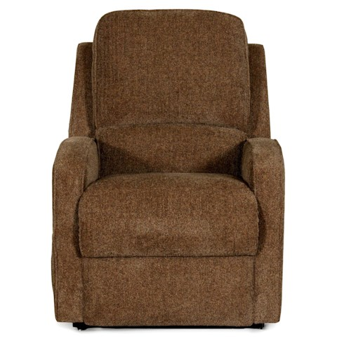 LDI 1237 Casual Lift Recliner with Sloped Track Arms