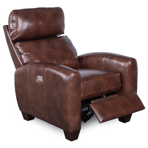 Synergy Home Furnishings 1370 Recliner with Power Headrest and Block Feet