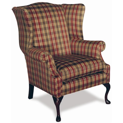 Sofa Mart Accent Chairs: Temple Furniture Accent Chairs High Leg Traditional Wing