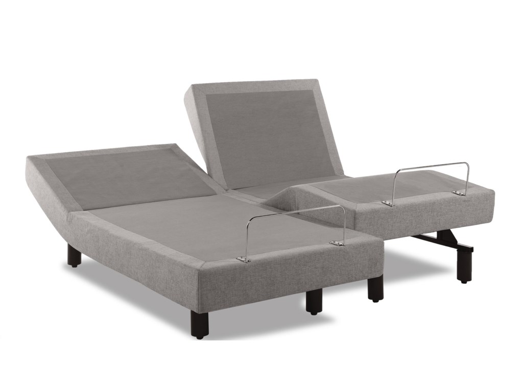 Image Shown May Not Represent Size Indicated;  Image Shows 2 Twin XL Bases; This Set is Priced with One Cal King Mattress and a Pair of Adj Bases; Available as a Split Cal King (similar to shown) for an Up Charge