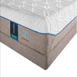 Closer Look At Mattress; Actual Foundation is Different Than Shown Here