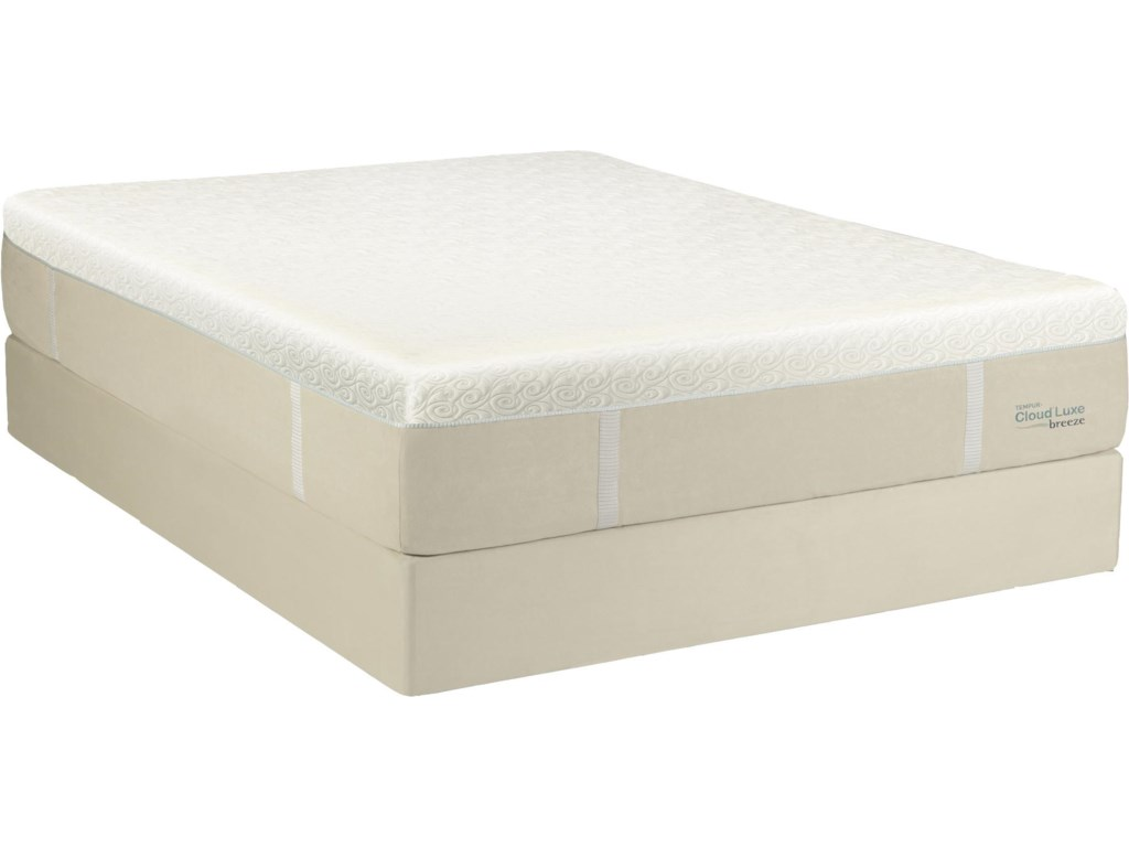 Mattress Shown on Optional Foundation; Image Shown May Not Represent Size Indicated