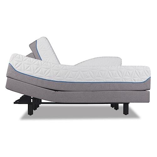 Tempur-Pedic® TEMPUR-Cloud Luxe King Ultra-Soft Mattress and TEMPUR-Ergo™ Premier Adjustable Foundation
