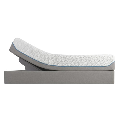 Tempur-Pedic® TEMPUR-Cloud Supreme California King Soft Mattress and TEMPUR-Up™ Foundation