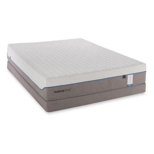 Tempur-Pedic® TEMPUR-Cloud Supreme California King Soft Mattress and Foundation